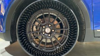 Michelin Teams With GM on Airless Tire