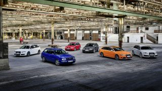Audi Celebrates 25 Years of RS with Party, Six New Models