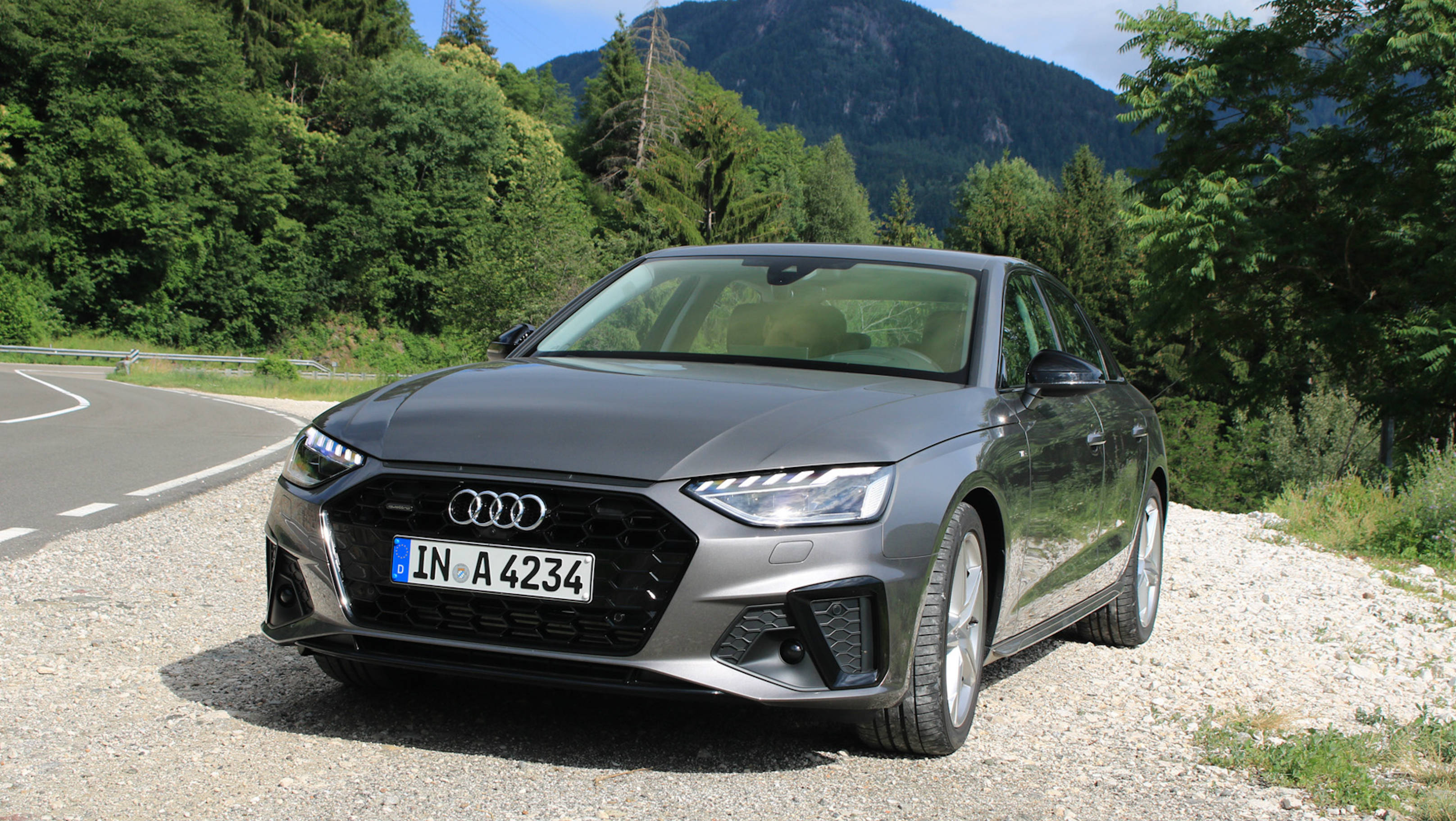 First Drive 2020 Audi A4