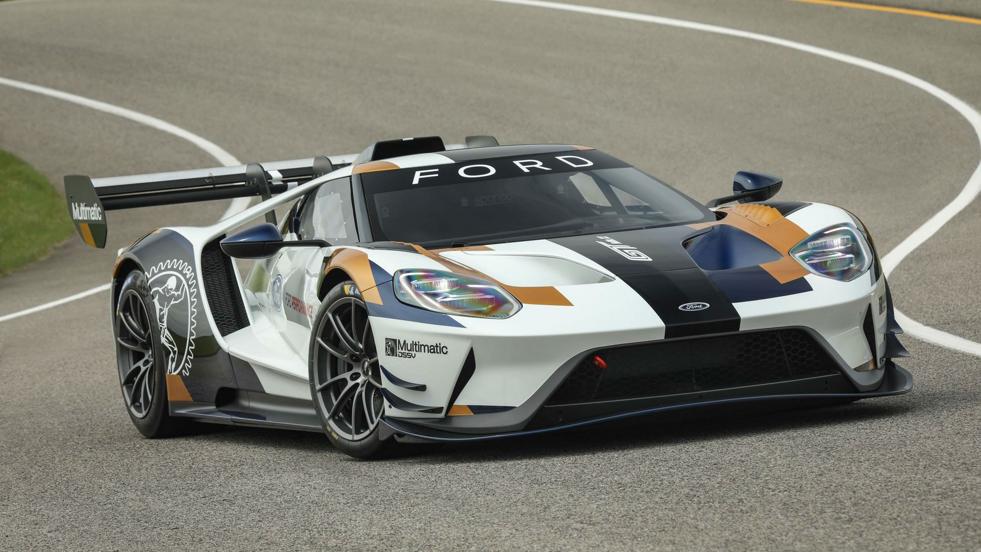 The Ford GT Mk II is The Ultimate American Track Car