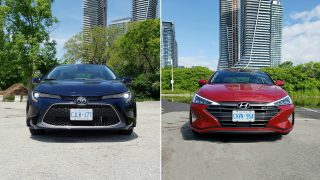2020 Toyota Corolla XLE vs 2019 Hyundai Elantra Ultimate