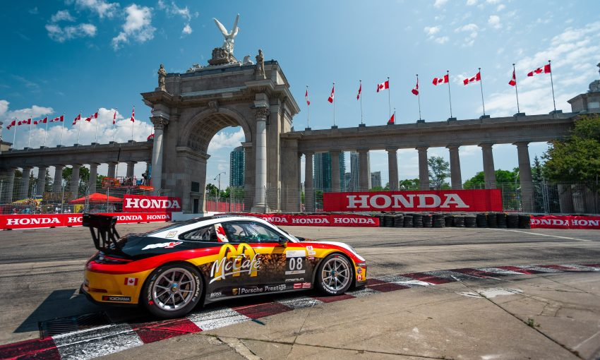 IMSA Porsche GT3 Cup Challenge Canada Streets of Toronto Indy Martin Harvey