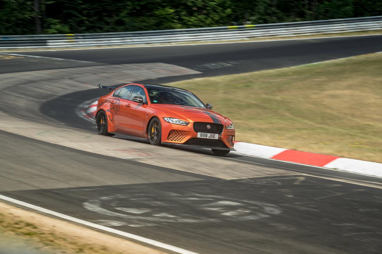 Jaguar XE SV Project 8 Breaks Its Own Nurburgring Lap Record