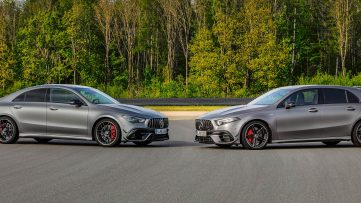Mercedes-AMG CLA 45 and Mercedes-AMG A 45