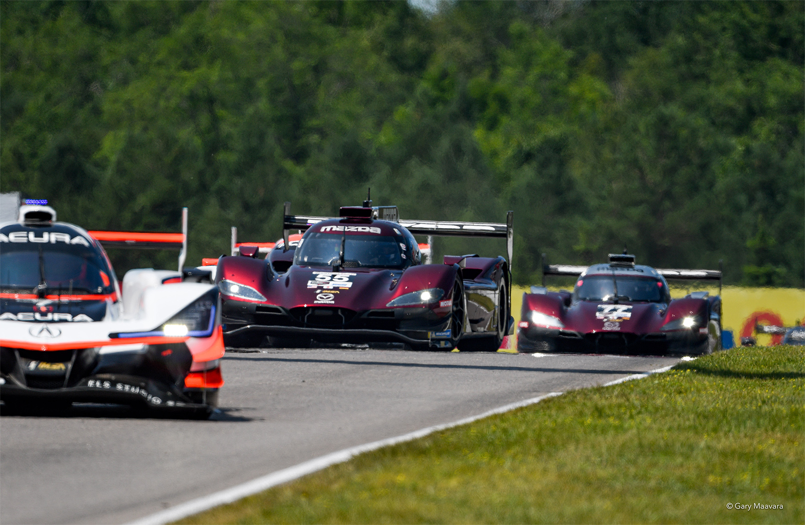 Back-to-Back 1-2 Finishes for Mazda with Win at Mobil 1 SportsCar Grand Prix