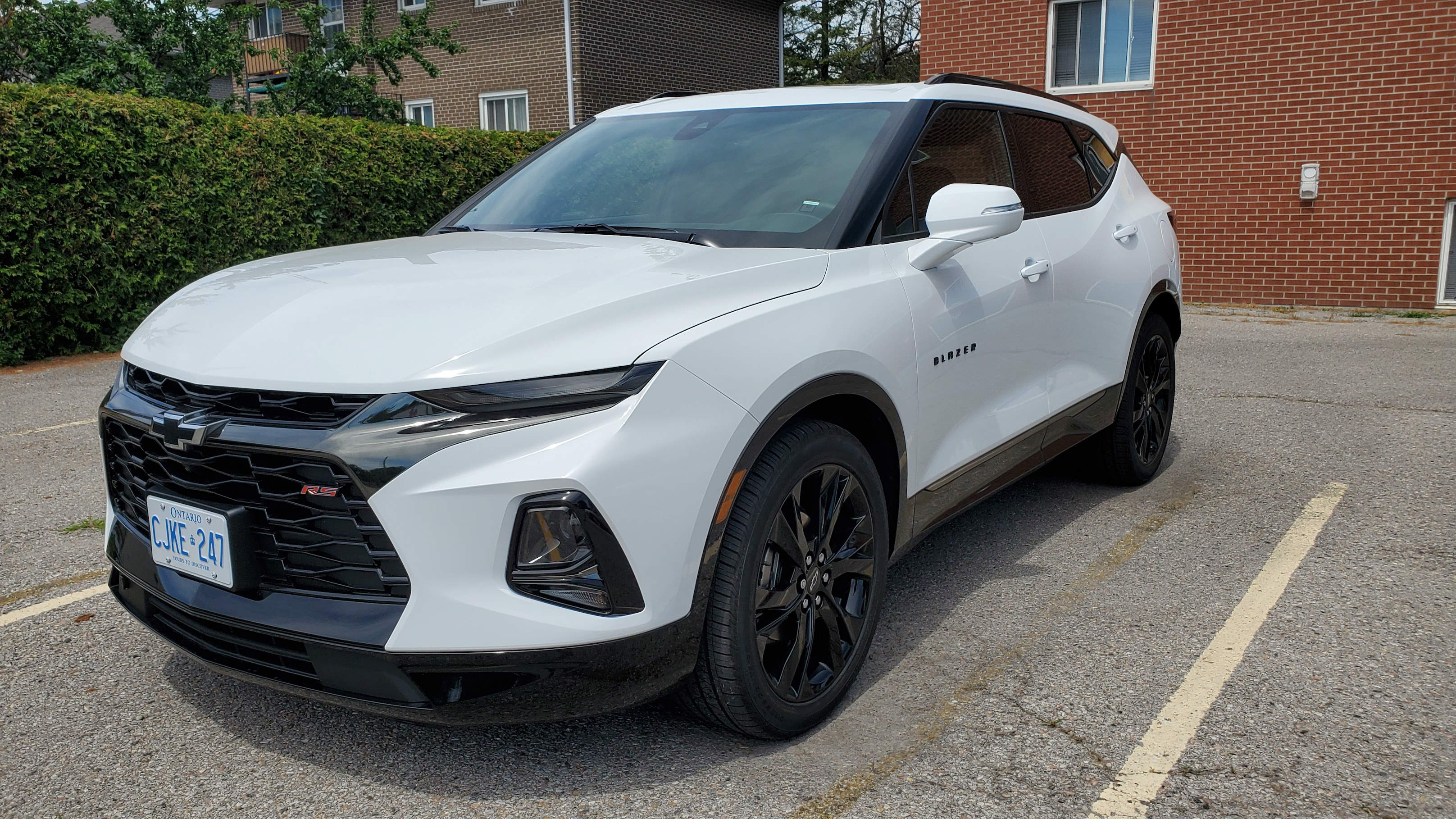 Review 2019 Chevrolet Blazer Rs Wheels Ca