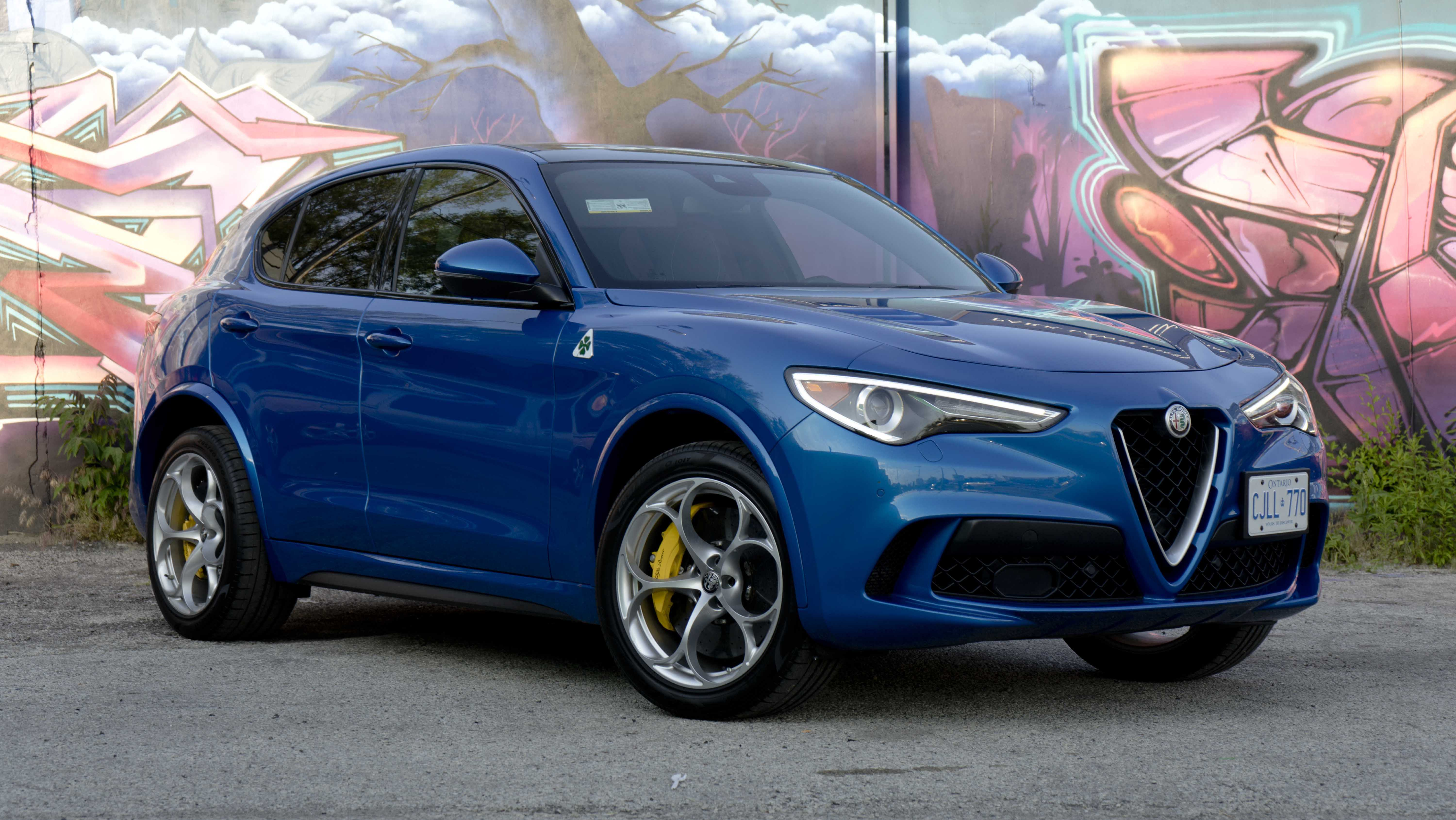 Review 2019 Alfa Romeo Stelvio Quadrifoglio Wheels Ca