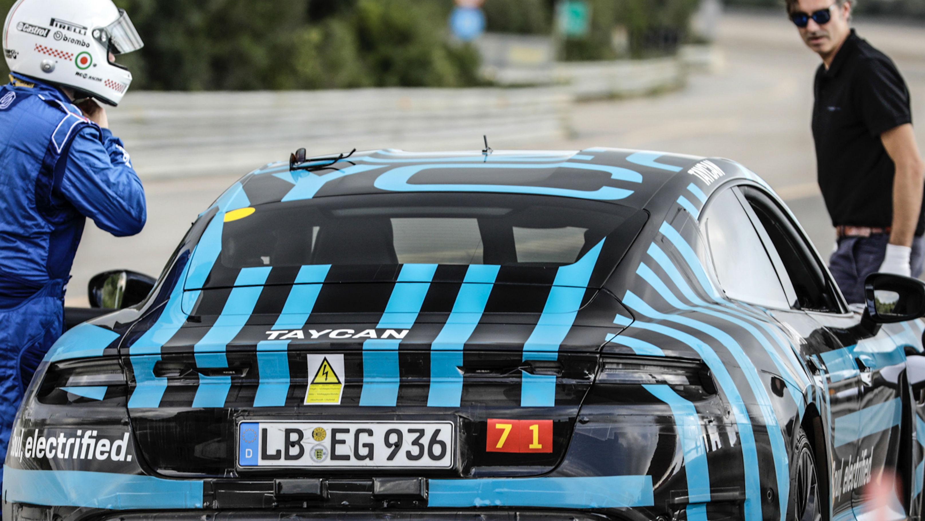 all-electric sportscar