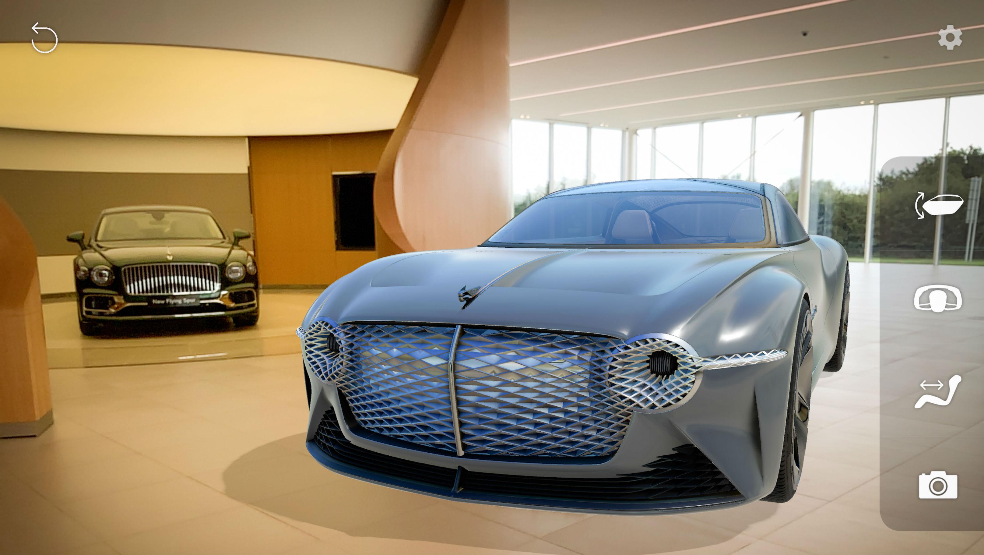 Bentley Virtually Shows Off EXP 100 GT