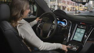 Bosch Showcases 3D Dash Displays