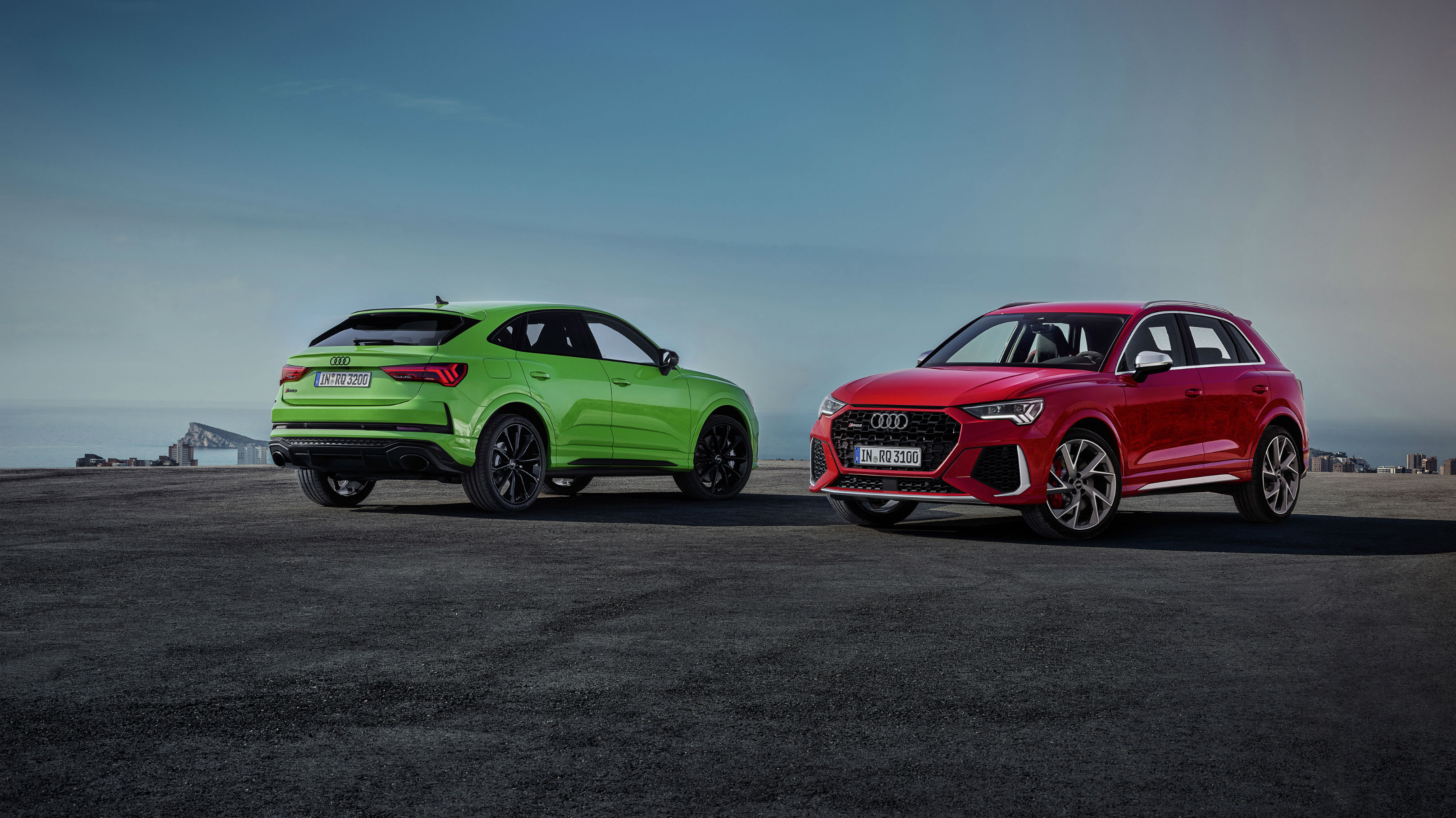 Audi Shows Off RS Q3 and RS Q3 Sportback