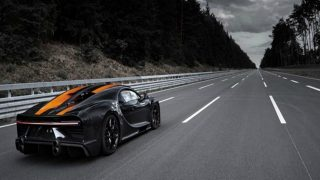 Record-Setting Chiron Caught Air at Nearly 450 km/h