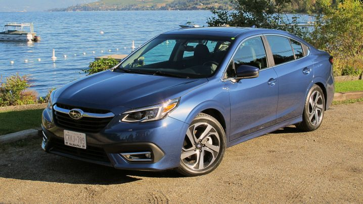 First Drive 2020 Subaru Legacy