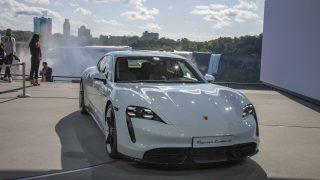 Porsche Taycan Reveal