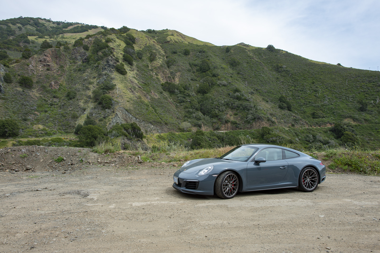 Toronto to L.A. in a Porsche 991.2 911 C4S - Actual Route