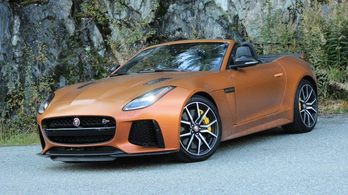 Review 2020 Jaguar F-Type SVR Convertible