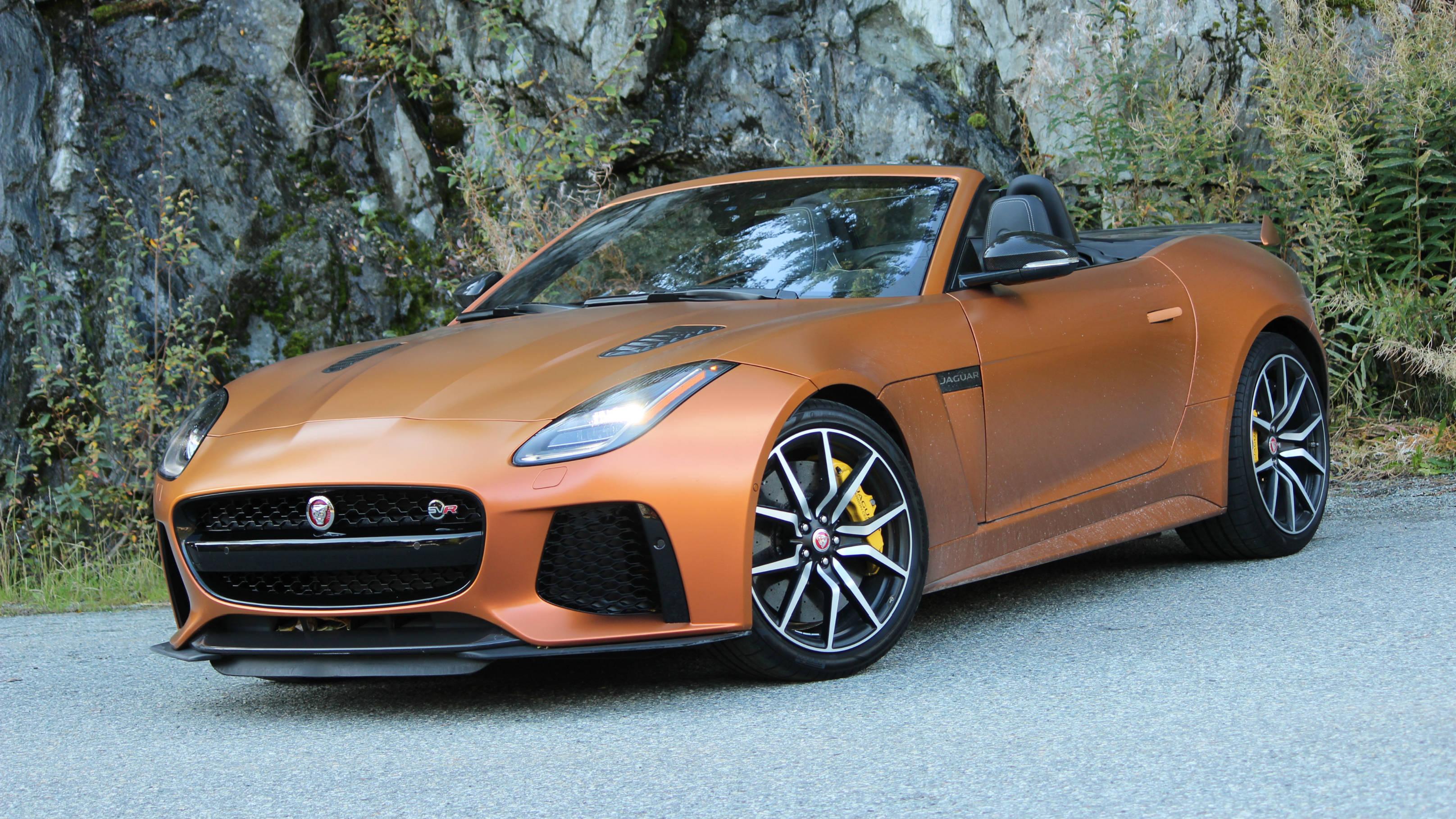 Review 2020 Jaguar F-Type SVR Convertible