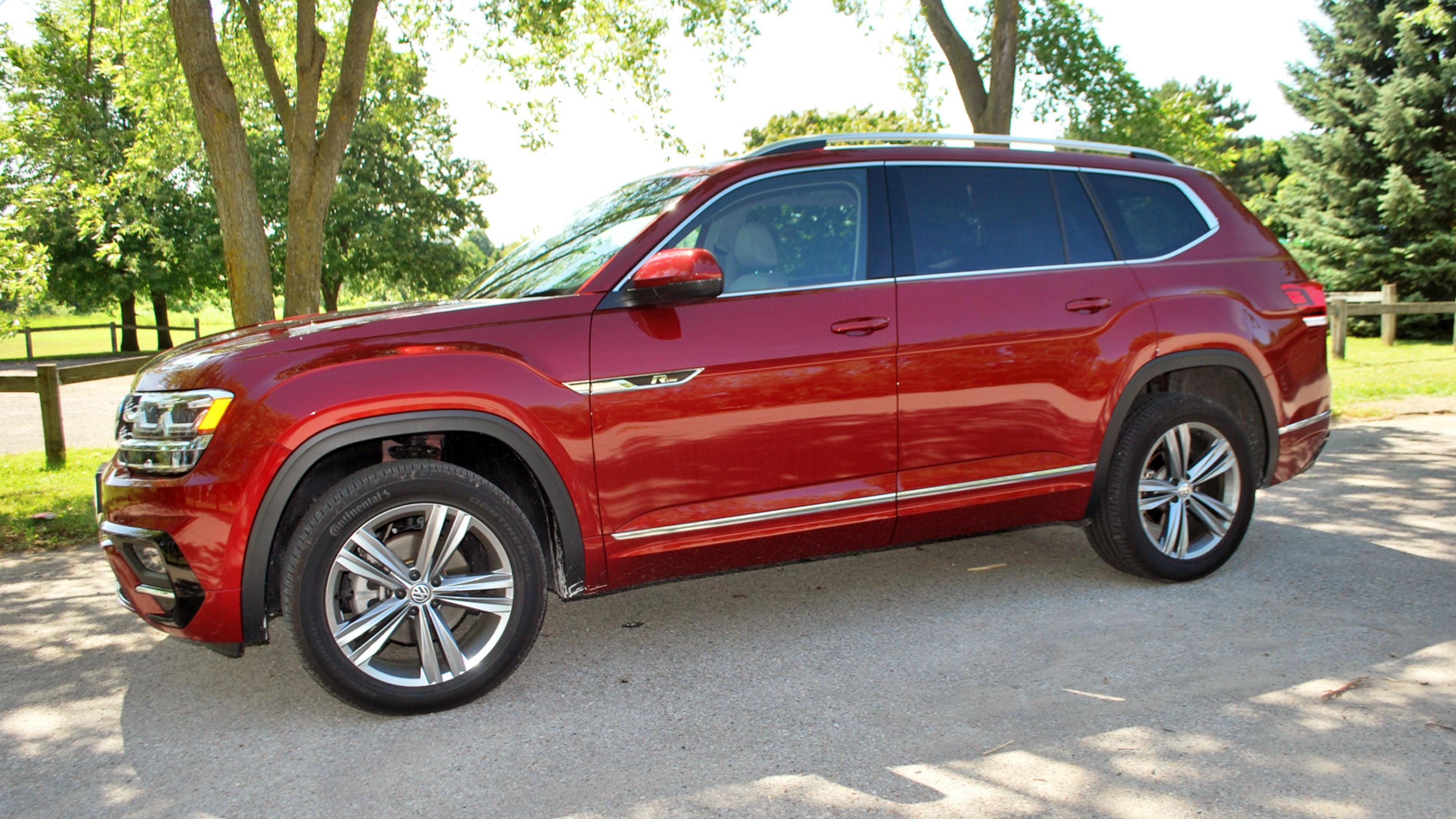 Review 2019 Volkswagen Atlas Execline Suv Wheels Ca