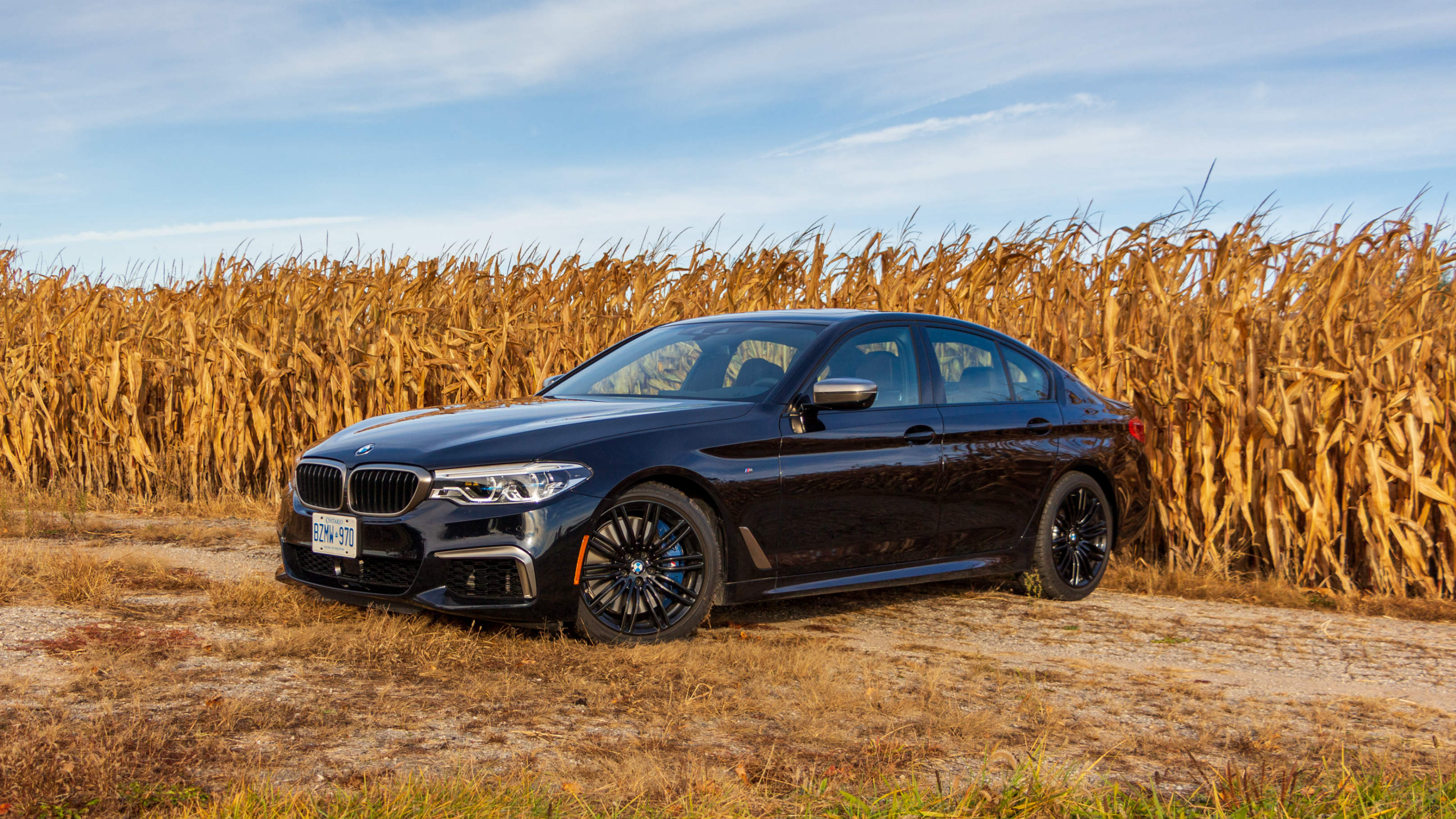 Review 2020 BMW M550i