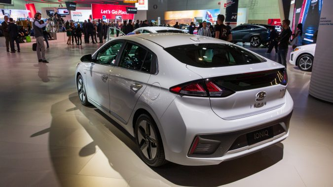 2020 Hyundai Ioniq Gets More Battery, More Power, Facelift ...