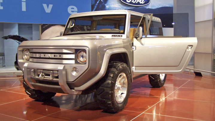 New Ford Bronco