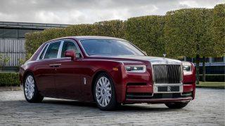 Rolls Red Phantom