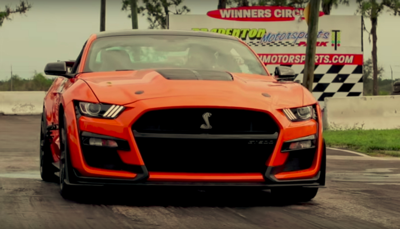 GT500 Breaks Quarter Mile Record