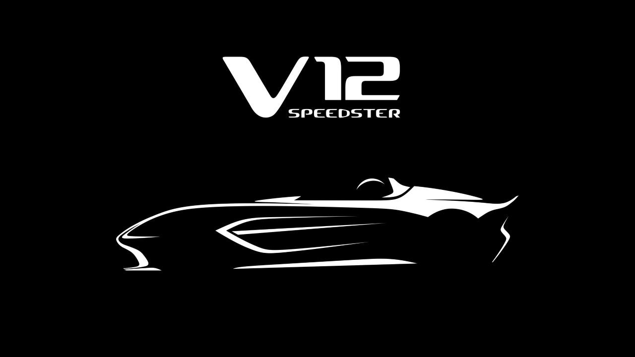 Aston will build a 700 hp V12 Speedster