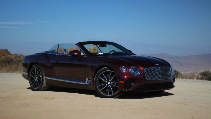 Review: 2020 Bentley Continental GTC V8