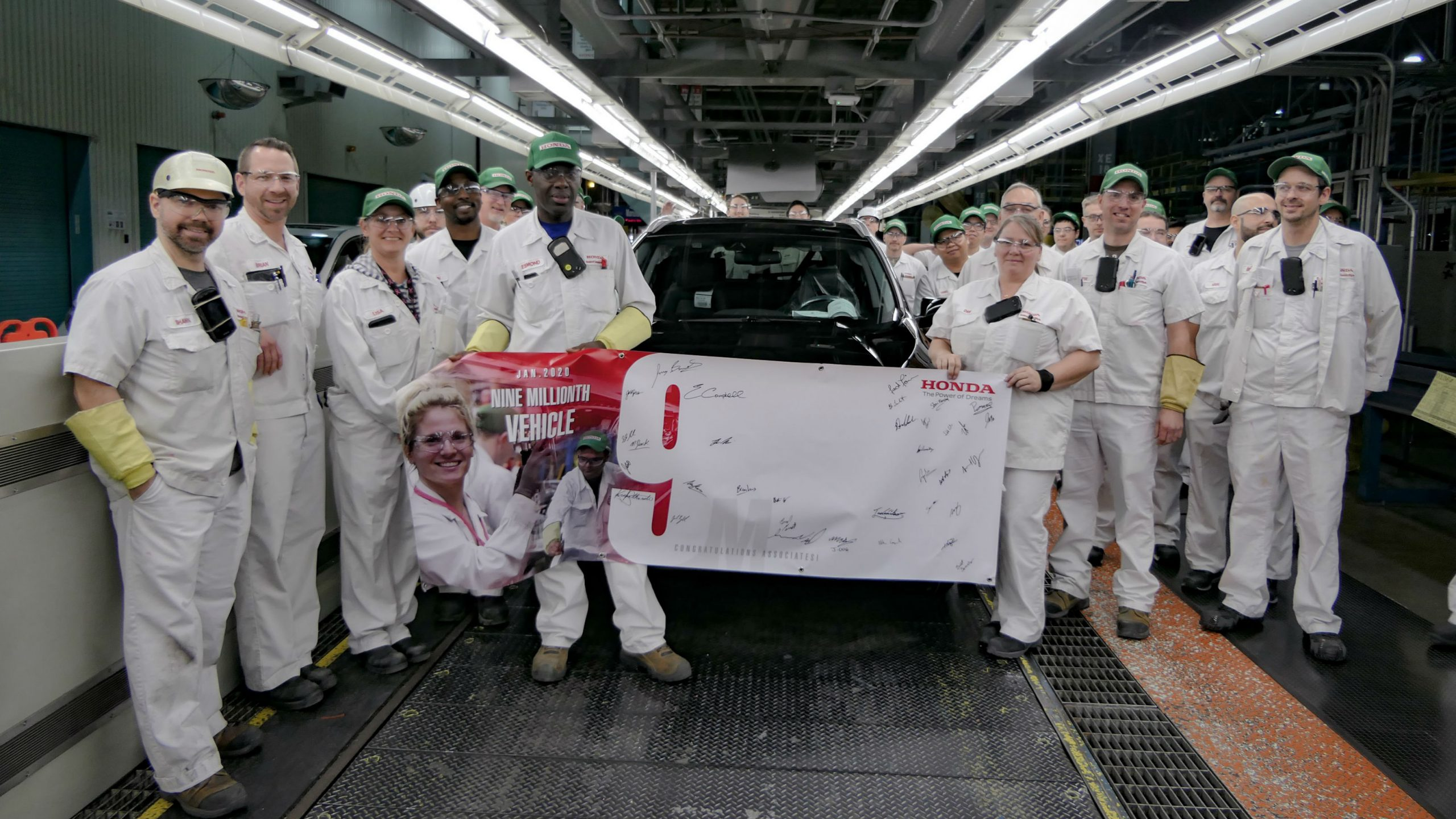 Honda of Canada Mfg. builds nine-millionth vehicle in Ontario