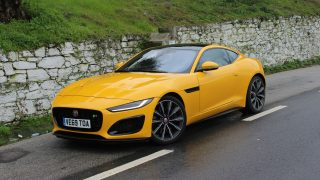 First Drive 2021 Jaguar F-Type