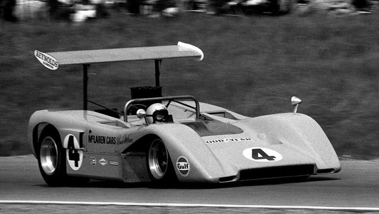 McLaren racing tribute