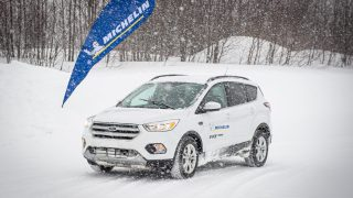 Michelin's newest winter rubber, the X-Ice Snow