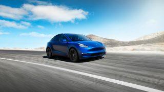 Tesla Model Y contact-less deliveries