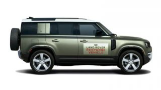 Jaguar Land Rover Collecting PPE in Canada