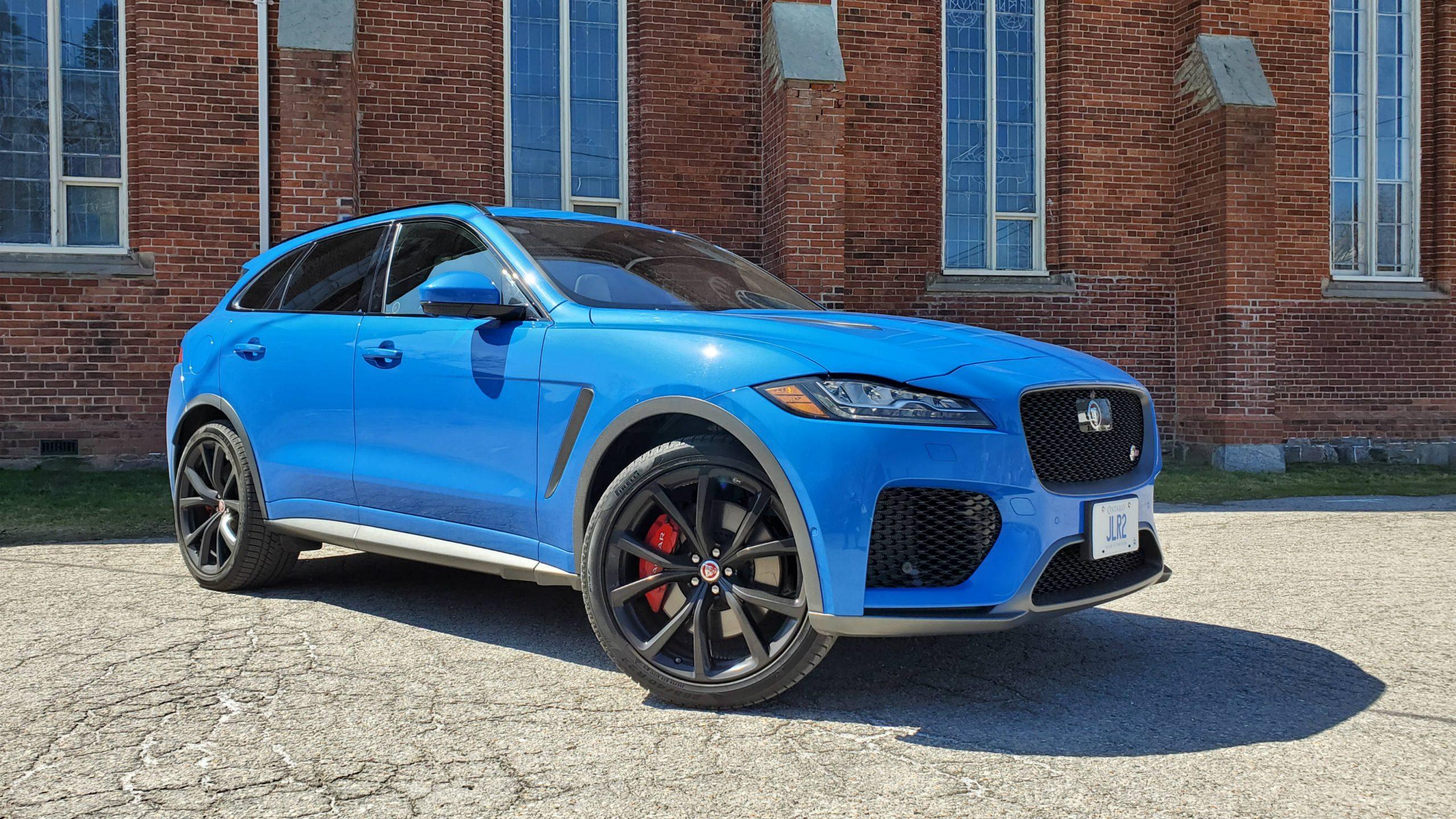 Review 2020 Jaguar F Pace Svr Wheels Ca
