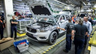 Volvo Cars restarted production