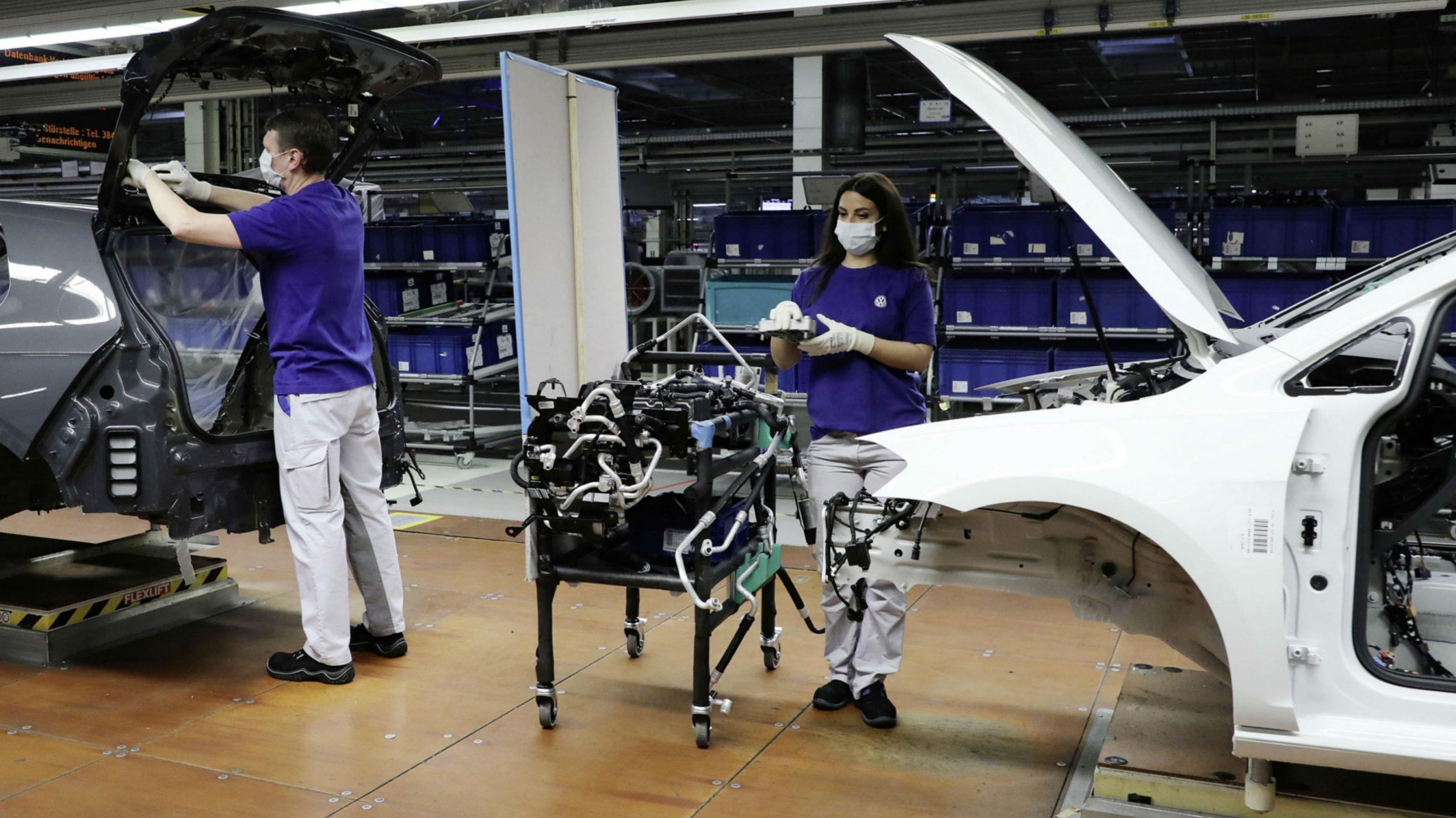 Volkswagen Resumes Production