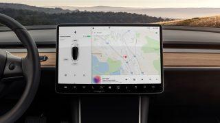 Tesla Model 3 screen