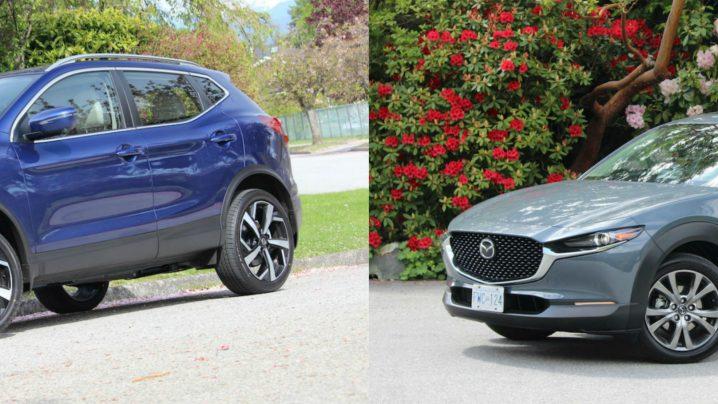 Head to Head: 2020 Nissan Qashqai vs 2020 Mazda CX-30