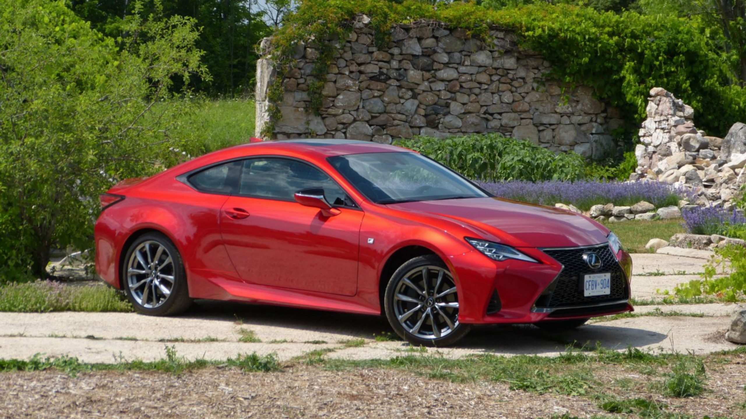 Review Lexus RC 350