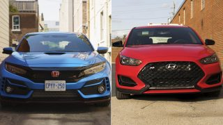 2020 Hyundai Veloster N vs Civic Type R