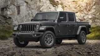 80th Anniversary Jeeps