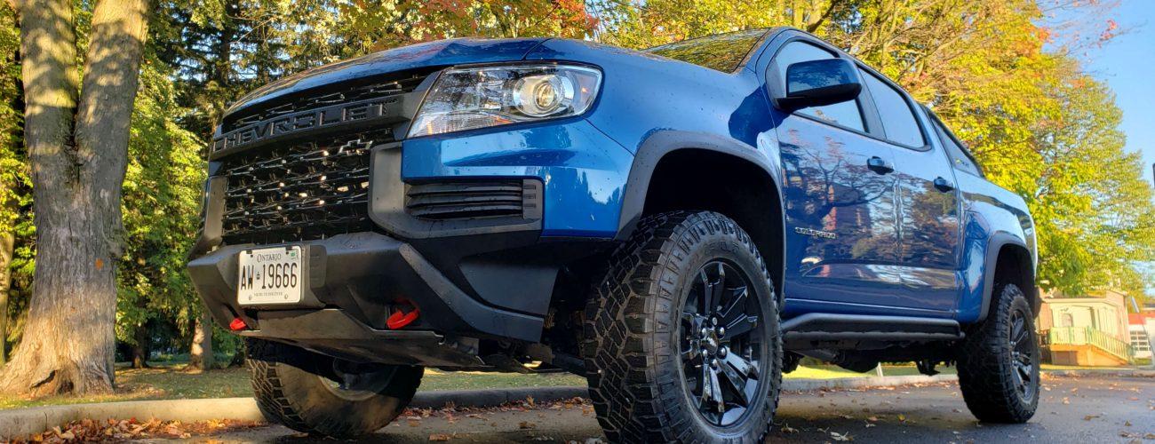 Review 2021 Chevrolet Colorado ZR2