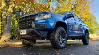 Review 2021 Chevrolet Colorado ZR2