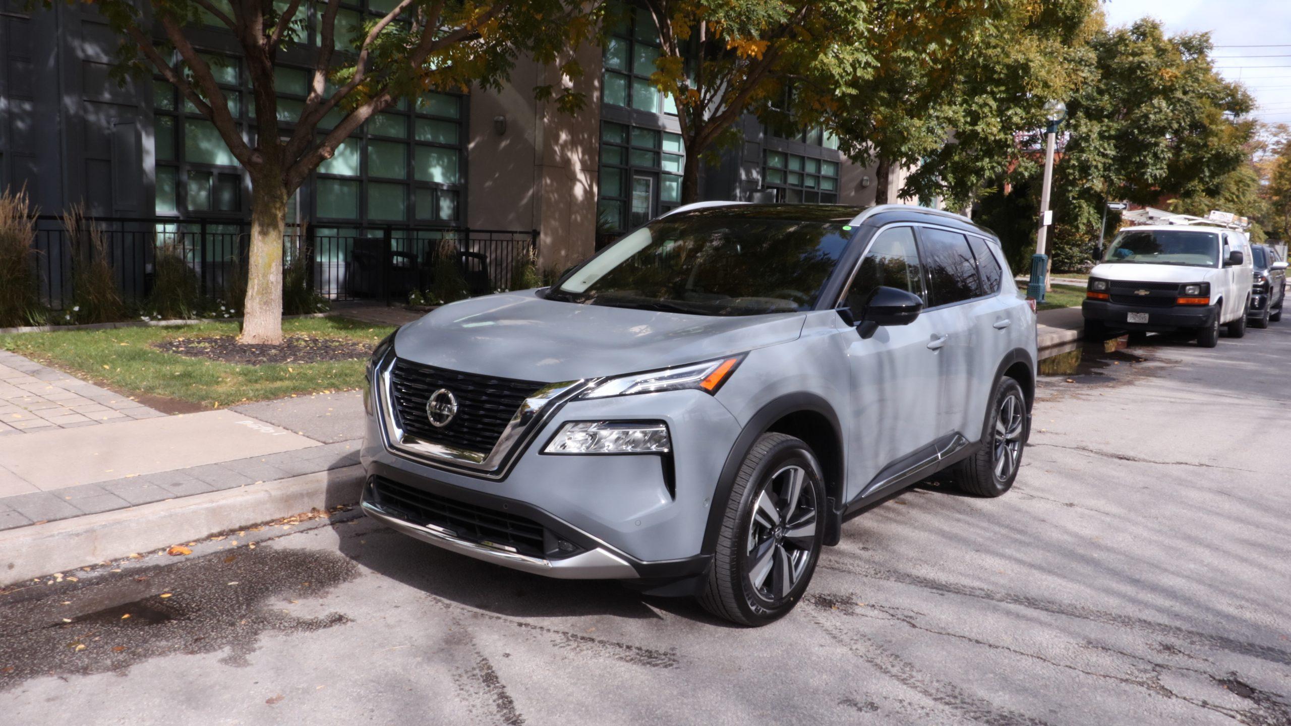 First Drive 2021 Nissan Rogue