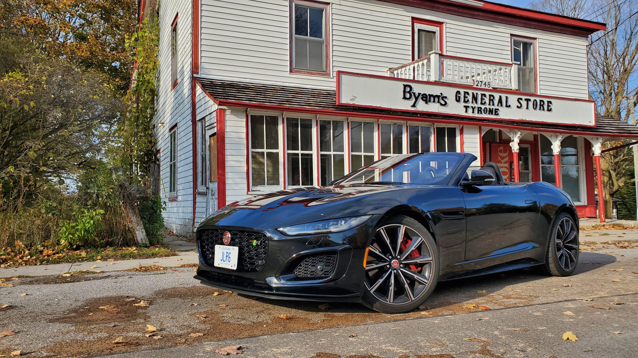 Review 2021 Jaguar F-TYPE R Convertible
