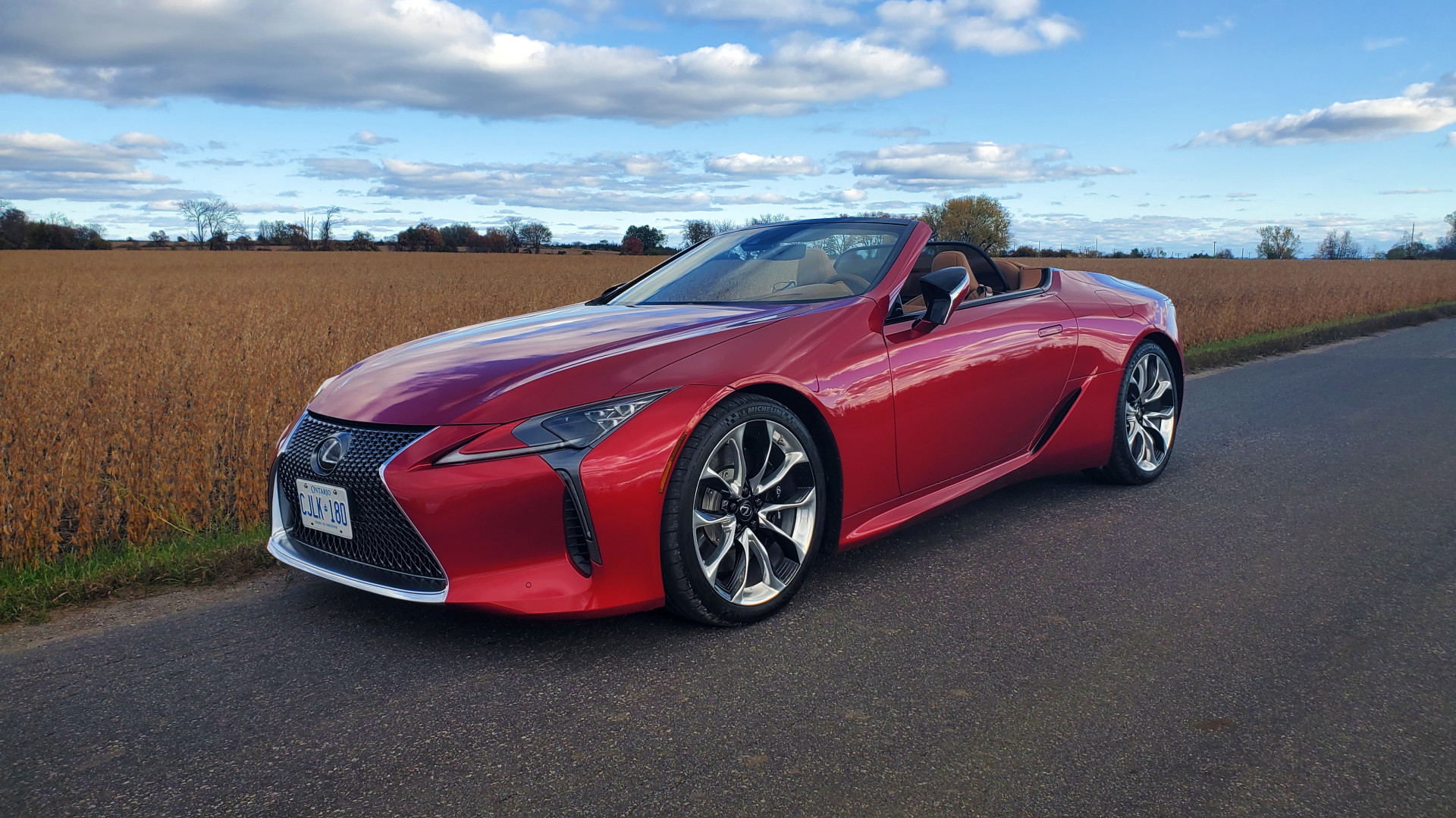 Review 2021 Lexus LC 500 Convertible