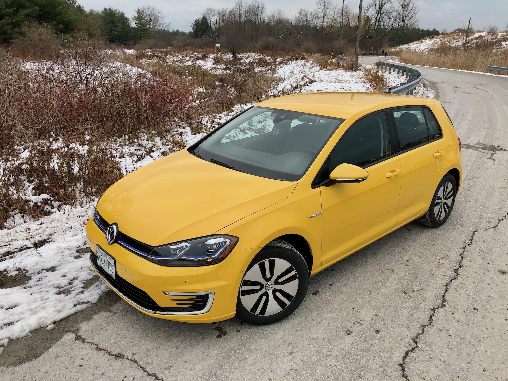 Review 2020 VW e-Golf