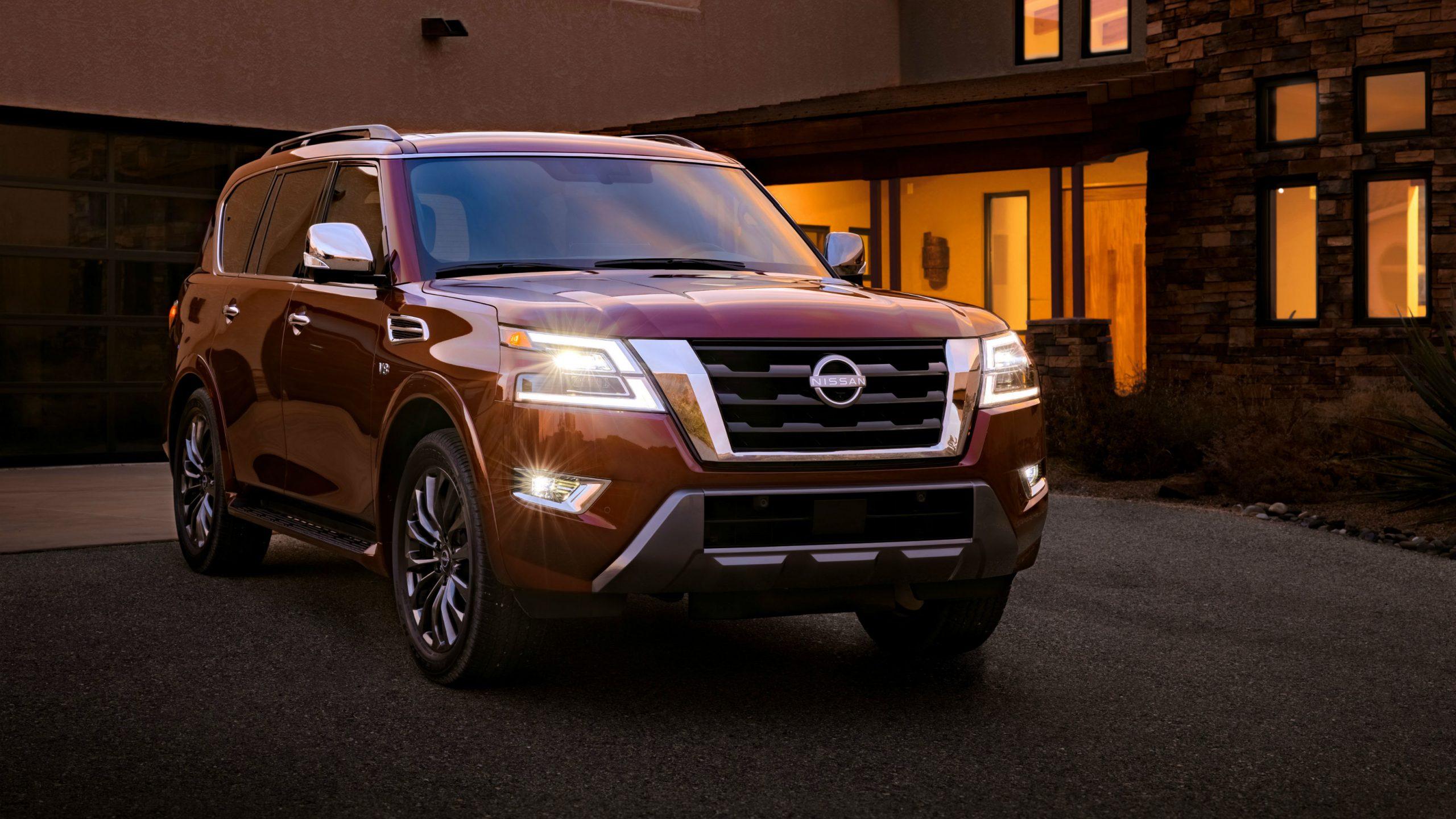 First Look 2021 Nissan Armada